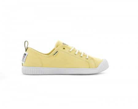 Low Tops   Easy Lace Canvas Gold Finch – Palladium Womens