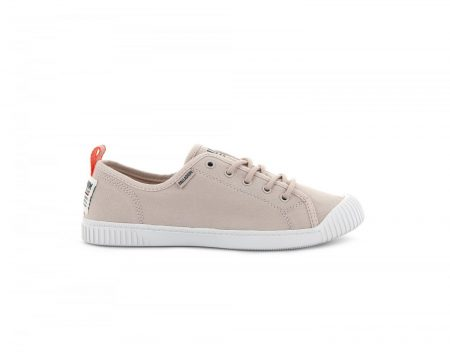 Low Tops | Easy Lace Canvas Peach Whip – Palladium Womens
